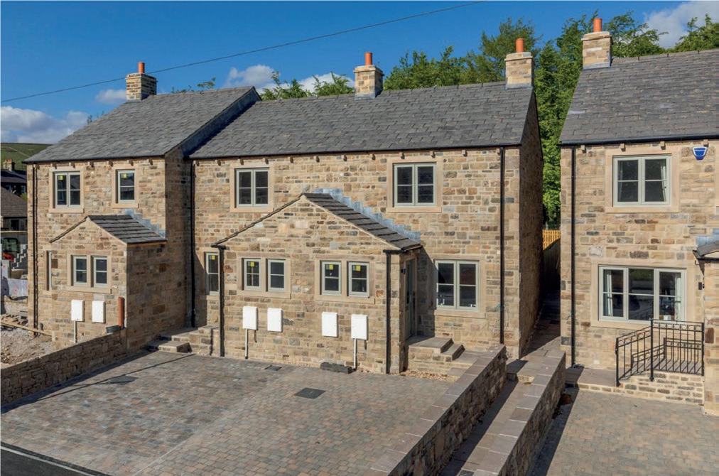 Laurel Croft in Embsay, Craven with two affordable homes.
